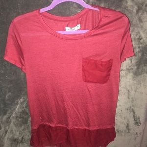 Red Hollister Tee